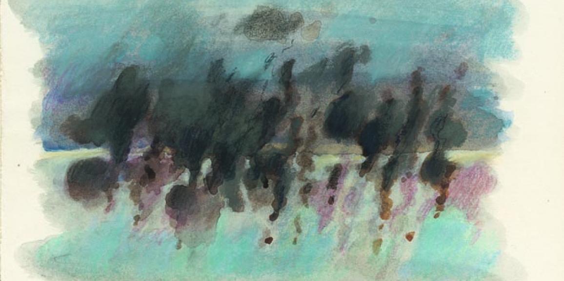 Έκθεση ζωγραφικής της Βούλας Πριοβόλου με τίτλο  «Ρέουσες Μορφές»